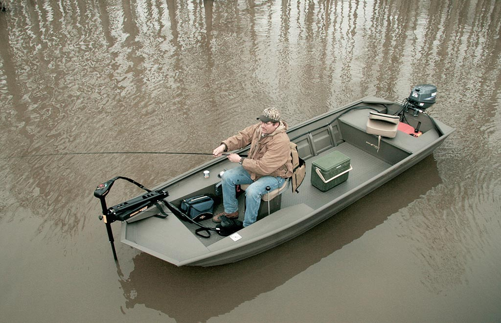 New Boats › War Eagle Boats › Jon Boat › 542 FD
