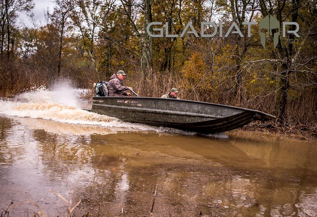 750 Gladiator - War Eagle Boats