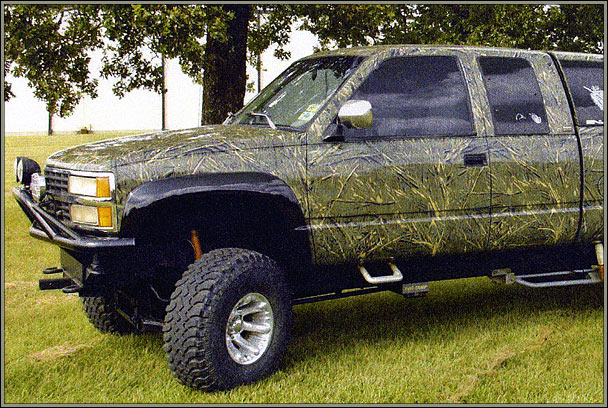 pin custom camo paint jobs on trucks on pinterest. Black Bedroom Furniture Sets. Home Design Ideas